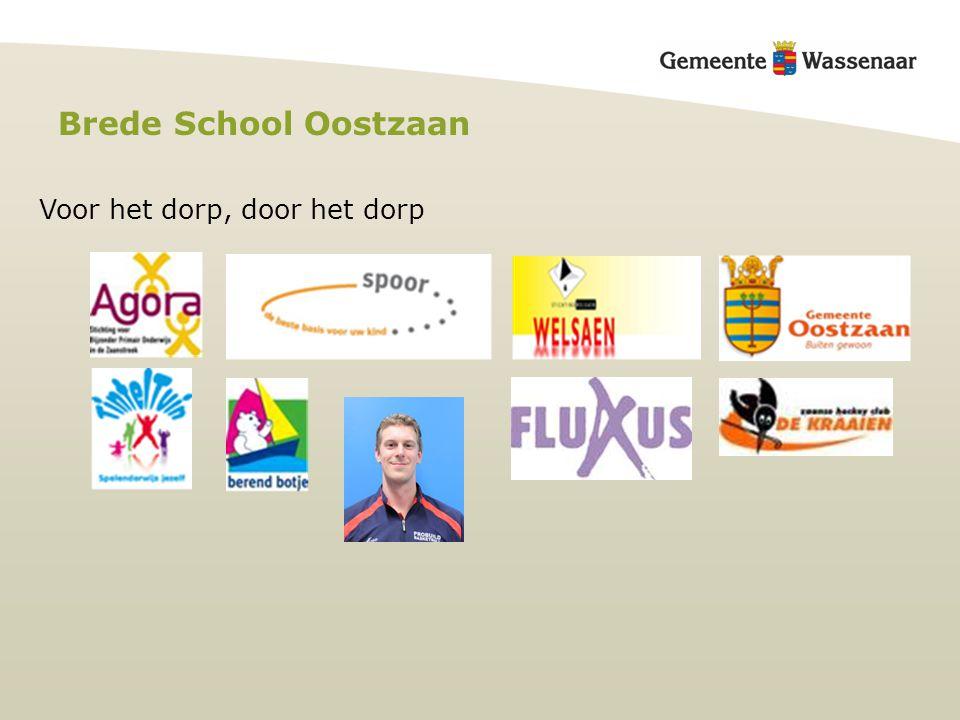Brede School Oostzaan Voor het dorp, door het dorp