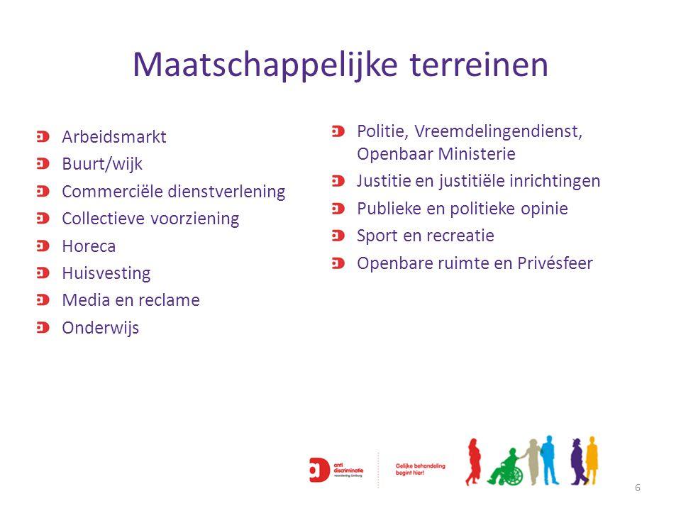 'Voedingsbodem' discriminatie 7 VOEDINGSBODEMVOEDINGSBODEM VOEDINGSBODEMVOEDINGSBODEM VOOROORDELEN STEREOTYPERING DISCRIMINATIE WIJZIJ ONBEGRIP& PESTEN SOCIALE UITSLUITING