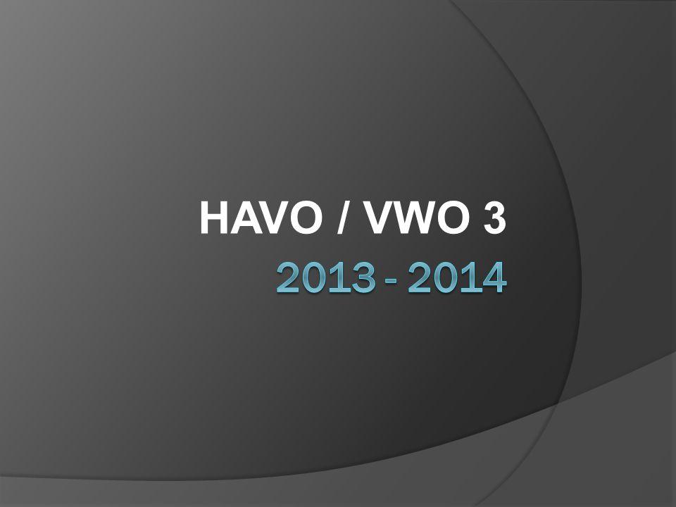 HAVO / VWO 3