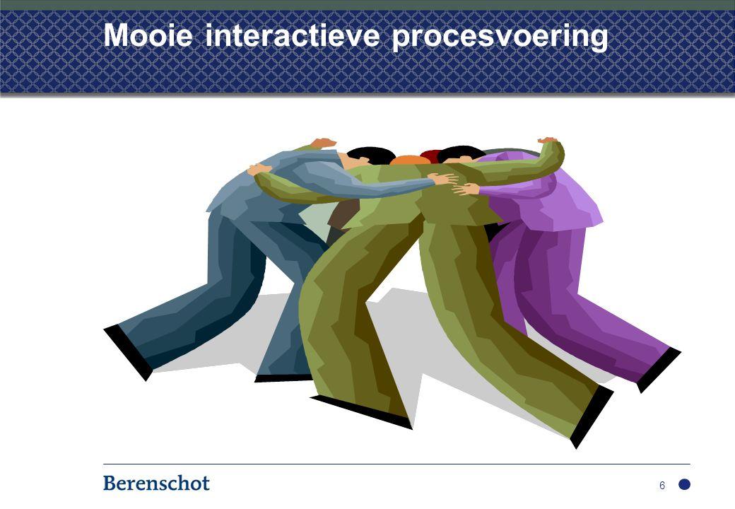 Innoverende organisatie Gericht op innoveren gericht op eigen effectiviteit en effciency hoogwaardige strategische capaciteit snelle interventiemacht deskundige specialistische organisaties 17