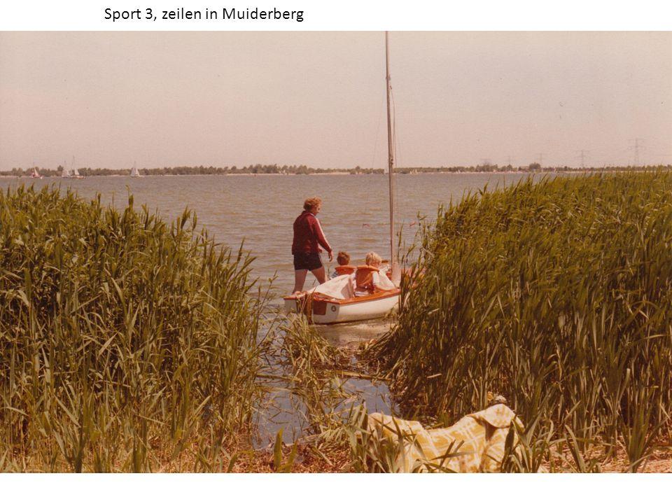 Sport 3, zeilen in Muiderberg