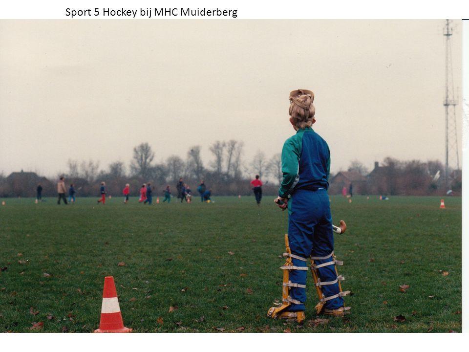Sport 5 Hockey bij MHC Muiderberg