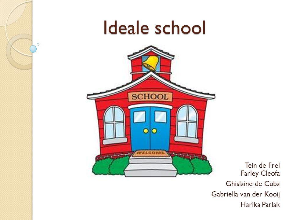 Ideale school Ideale school Tein de Frel Farley Cleofa Ghislaine de Cuba Gabriella van der Kooij Harika Parlak