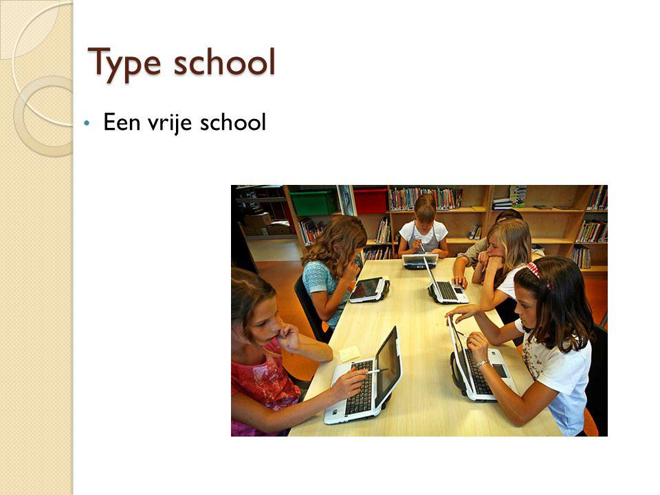 Type school Een vrije school
