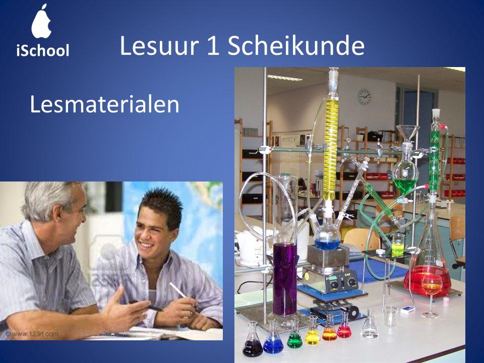Lesuur 1 Scheikunde Lesmaterialen iSchool