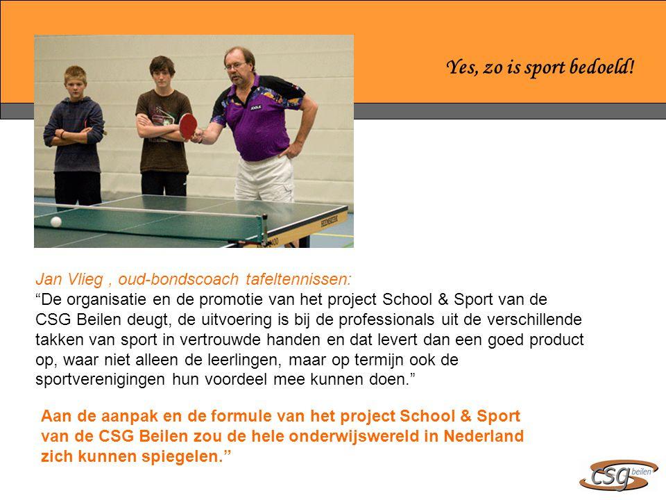 Yes, zo is sport bedoeld.