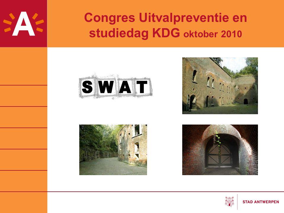 Congres Uitvalpreventie en studiedag KDG oktober 2010