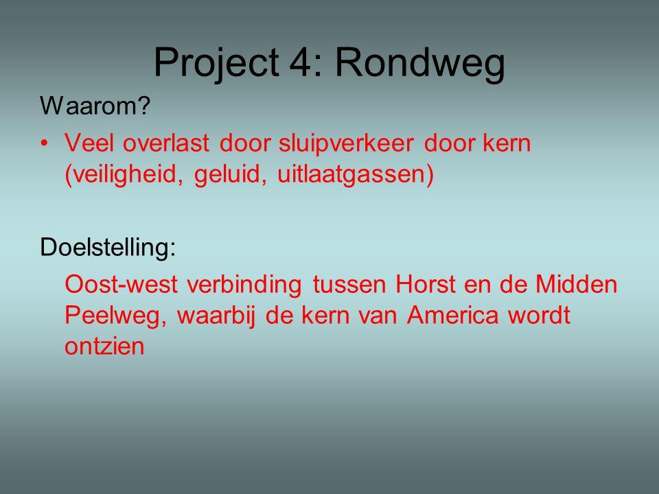 Project 4: Rondweg Waarom.
