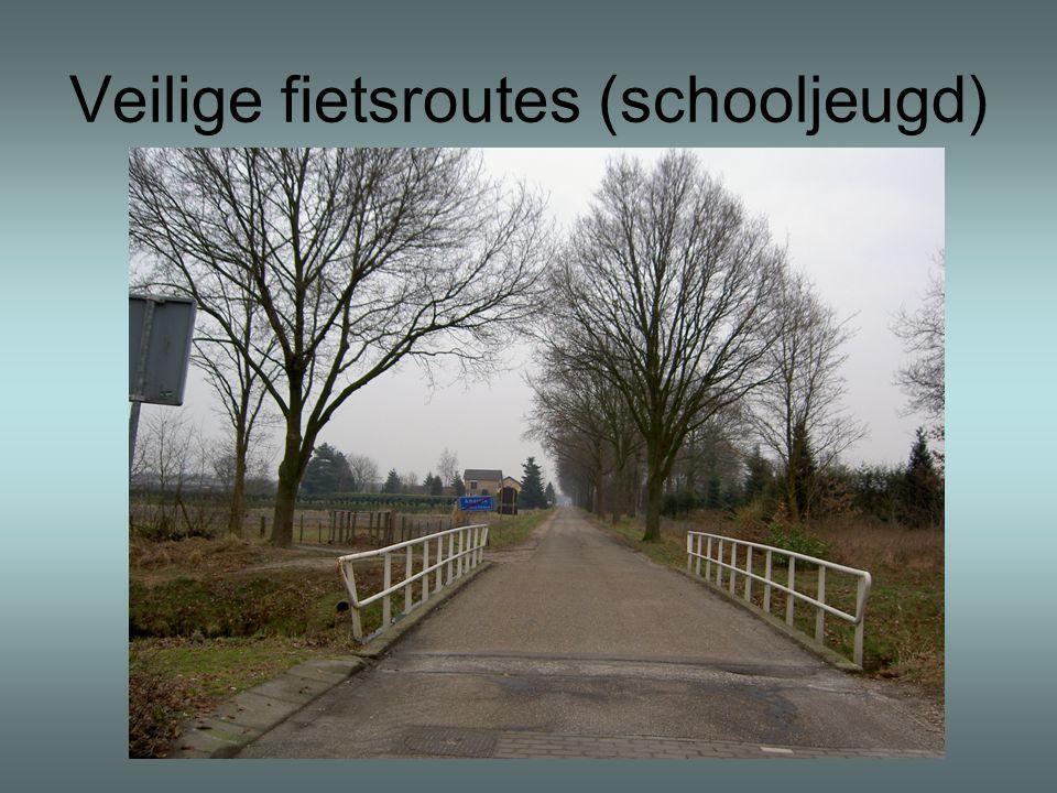 Veilige fietsroutes (schooljeugd)