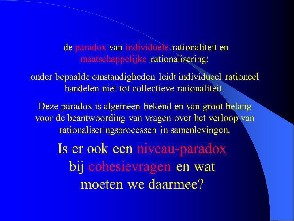 Amsterdamse interdependentietheorieën: Hoewel de bovenlagen van een samenleving door de hogere technologie en de democratische ideologie afhankelijker werden van de onderlagen, werden jongeren, vrouwen, arbeiders en buitenlanders minder afhankelijk en dat de verklaart de toename van geweld in Nederland sinds 1970.