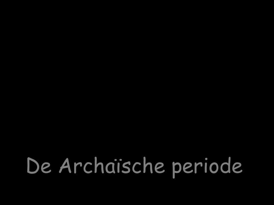 Griekse wereld voor 1000 v.Chr. Doriërs Achaeërs