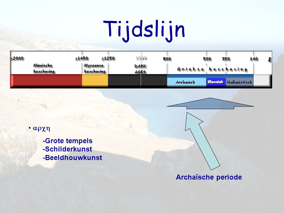 De Archaïsche periode Verbetering en evaluatie