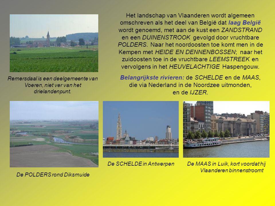 VLAANDEREN is, in hedendaagse context, de noordelijke deelstaat van België. Op bestuurlijk vlak vormt ze het geheel van de Vlaamse Gemeenschap en het