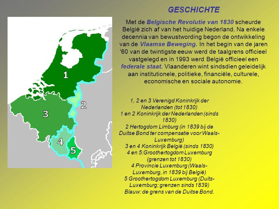 GESCHICHTE Met de Belgische Revolutie van 1830 scheurde België zich af van het huidige Nederland.