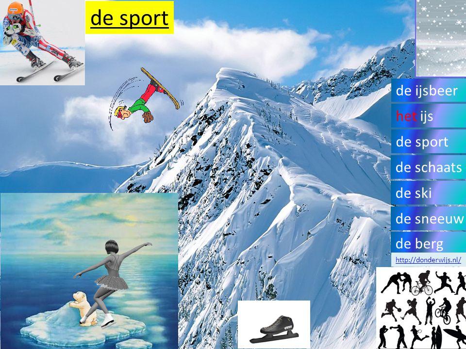 Extra materiaal http://www.schooltv.nl/beeldbank/clip/20120618_liedsporenindesneeuw01 Kindje ziet allemaal dierensporen in de sneeuw.