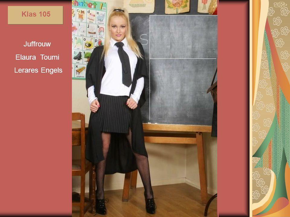 Zij geeft haar kennis door aan groepjes van maximaal zes leerlingen
