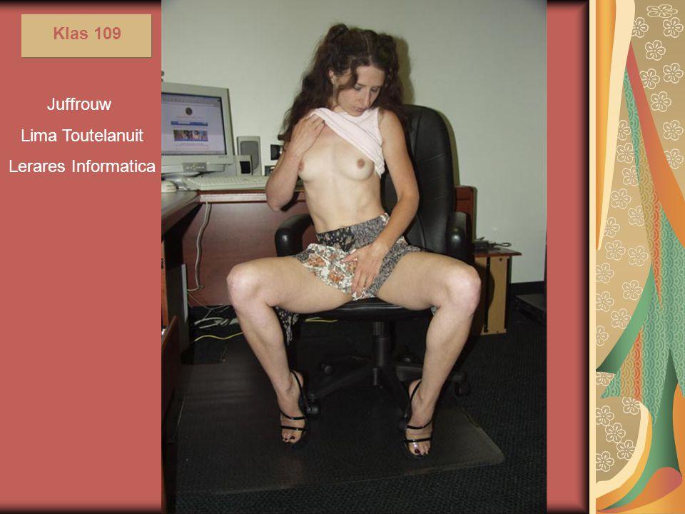 Klas 109 Juffrouw Lima Toutelanuit Lerares Informatica