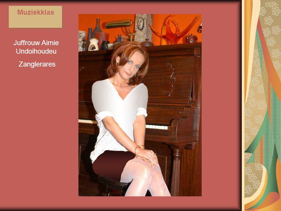Juffrouw Aimie Undoihoudeu Zanglerares Muziekklas