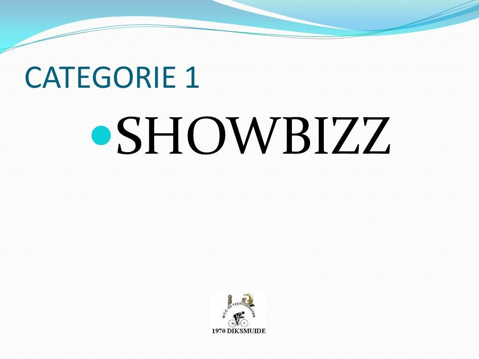 CATEGORIE 1 SHOWBIZZ