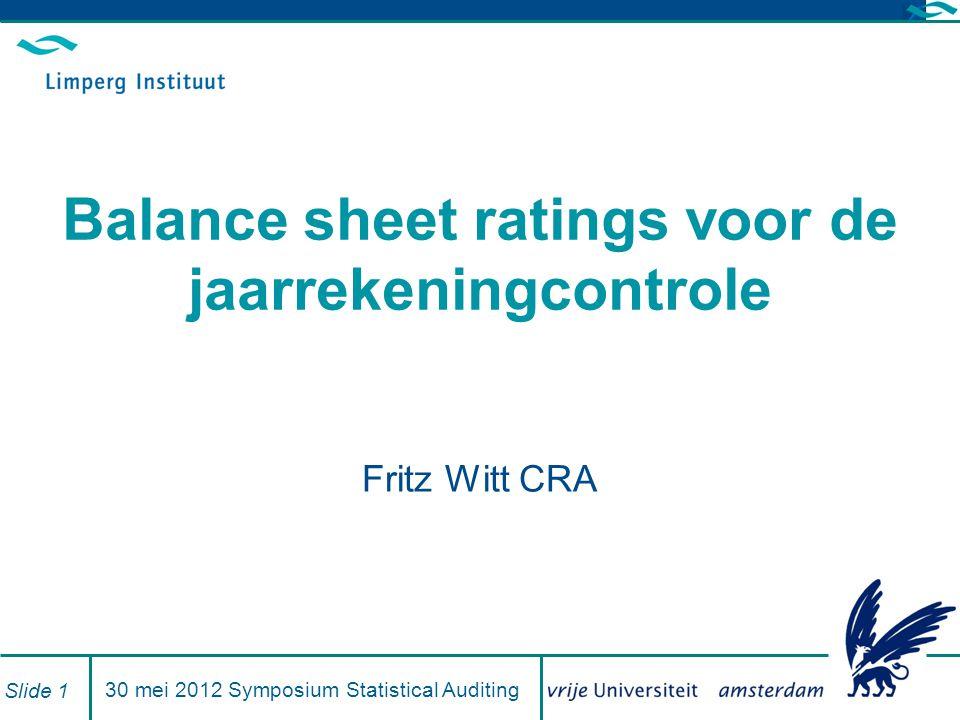 De oplossing van dit probleem: Branchebenchmarks 12.85 % Voorbeeld BV 6.83 % Waarde branche gemiddelde Stel je voor … … je kent de 'besten' (in rating) van een branche en de specifieke (geclassificeerde) eigenschappen van hun ratings…..