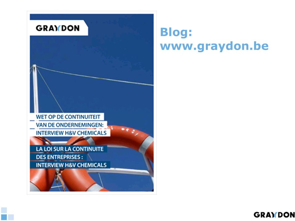 Blog: www.graydon.be