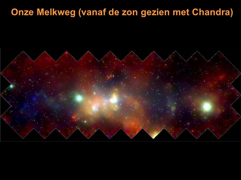 Onze Melkweg (vanaf de zon gezien met Chandra)