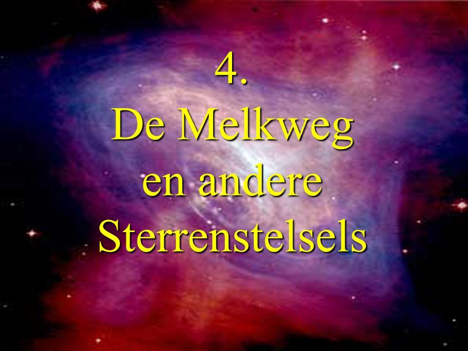 4. De Melkweg en andere Sterrenstelsels