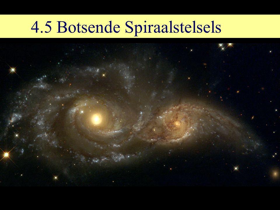 4.5 Botsende Spiraalstelsels
