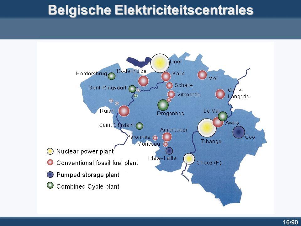 16/90 Belgische Elektriciteitscentrales