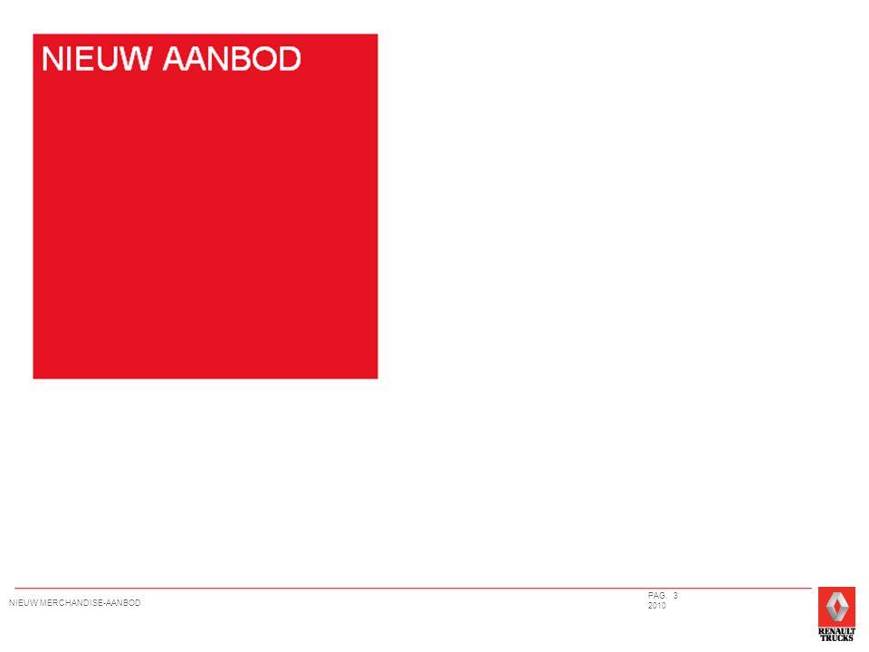 PAG. 3 2010 NIEUW MERCHANDISE-AANBOD