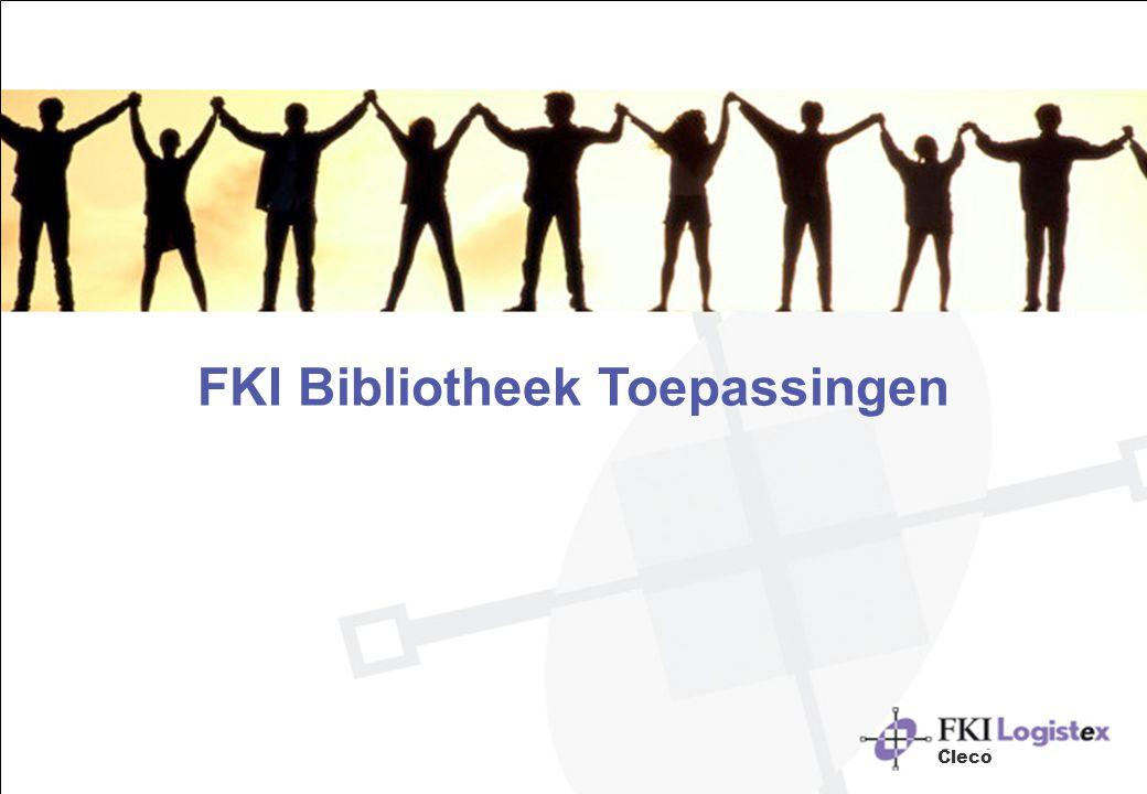 FKI Bibliotheek Toepassingen Cleco