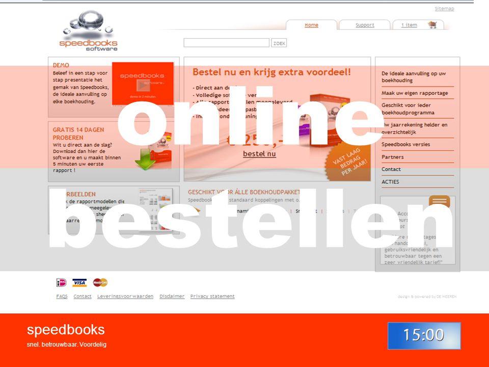 speedbooks snel. betrouwbaar. Voordelig bestellen online
