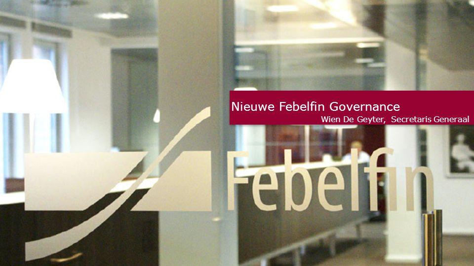 Nieuwe Febelfin Governance Wien De Geyter, Secretaris Generaal