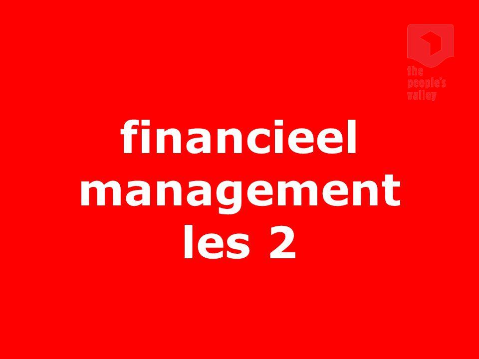 interactive marketing communications financieel management les 2