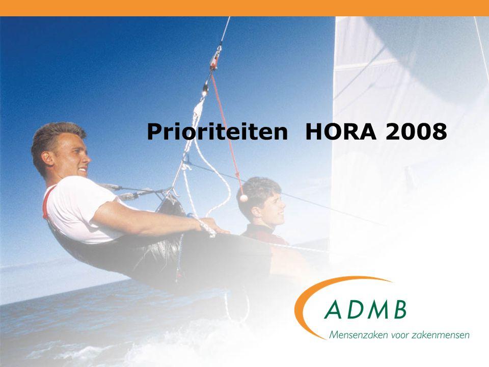 Prioriteiten HORA 2008