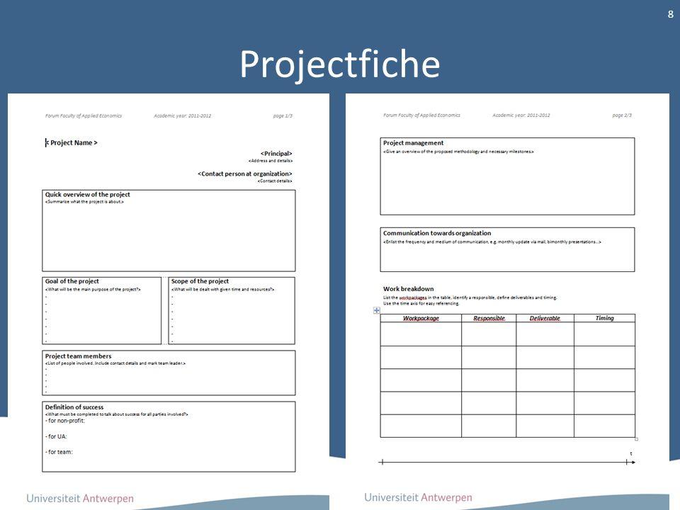 Projectfiche 8
