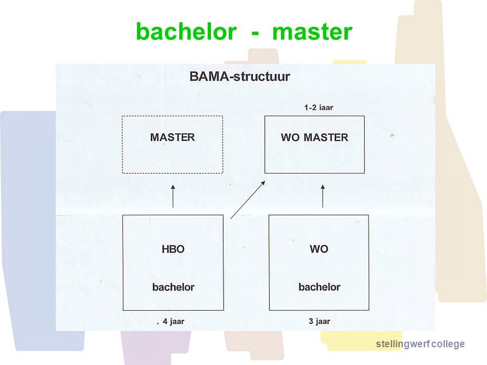 stellingwerf college bachelor - master