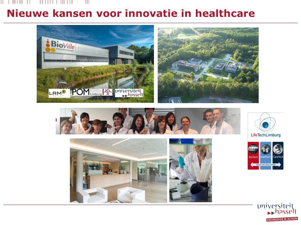 Nieuwe kansen voor innovatie in healthcare