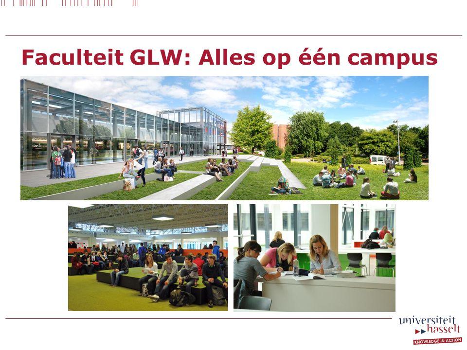 Faculteit GLW: Alles op één campus