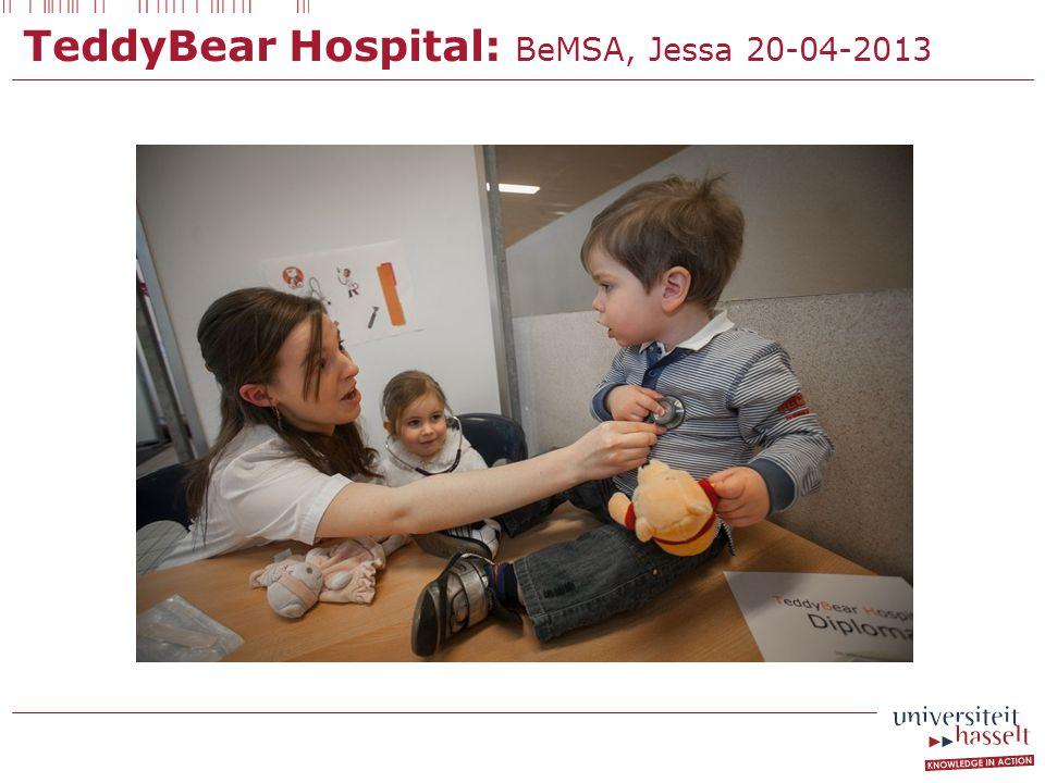 TeddyBear Hospital: BeMSA, Jessa 20-04-2013