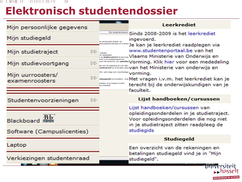 Elektronisch studentendossier