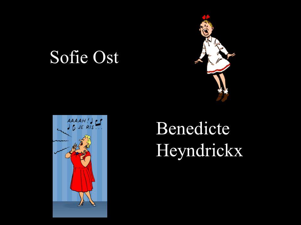 Sofie Ost Benedicte Heyndrickx