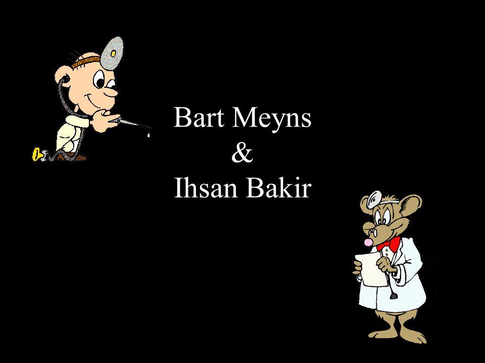 Bart Meyns & Ihsan Bakir