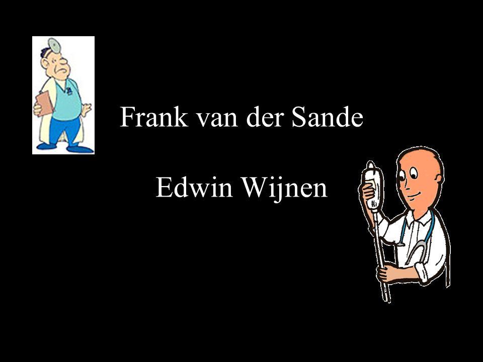 Frank van der Sande Edwin Wijnen