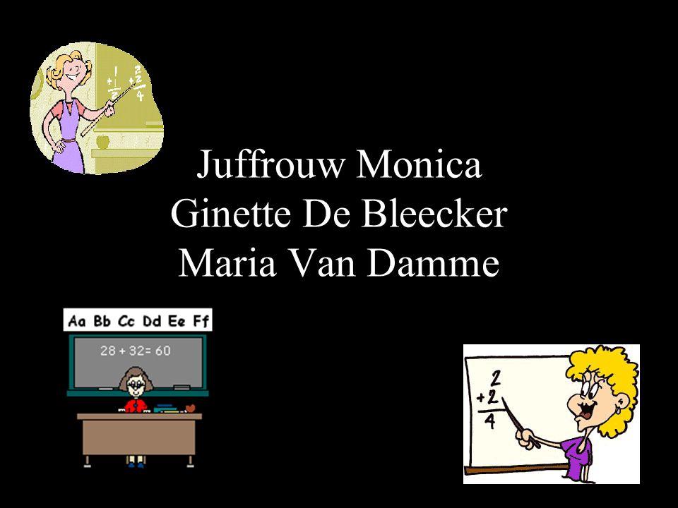 Juffrouw Monica Ginette De Bleecker Maria Van Damme