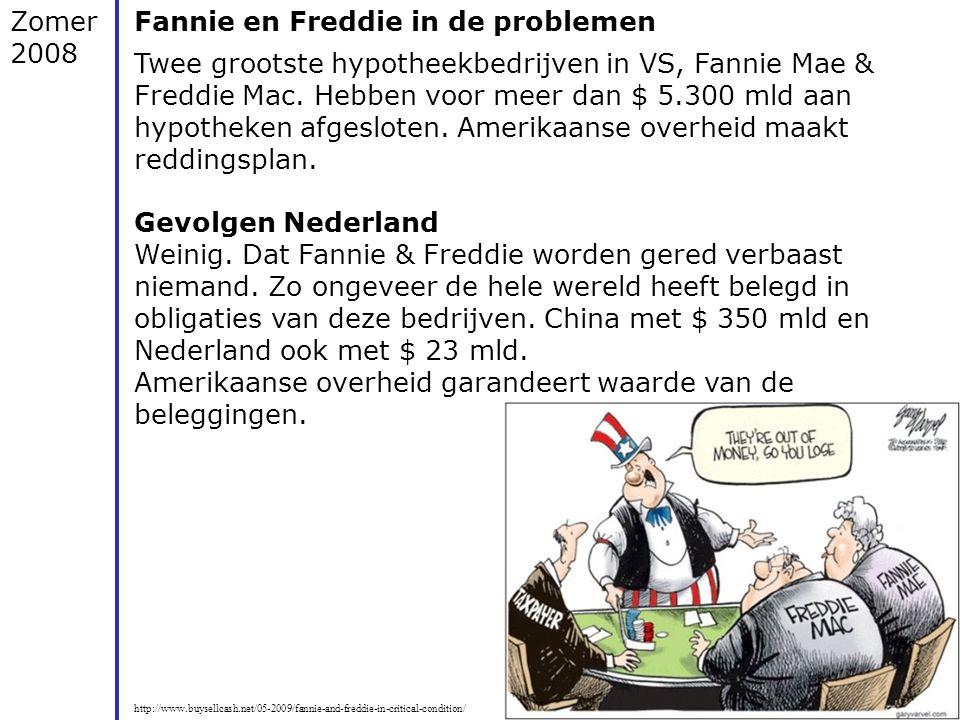 http://vorige.nrc.nl/nieuwsthema/kredietcrisis/article1987320.ece/Kredietcrisis_in_vijf_stappen Zomer 2008 Fannie en Freddie in de problemen Twee groo
