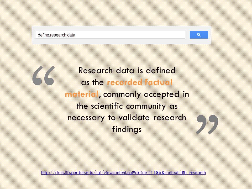 Research Data Repositories - discipline http://biosharing.org/biodbcore