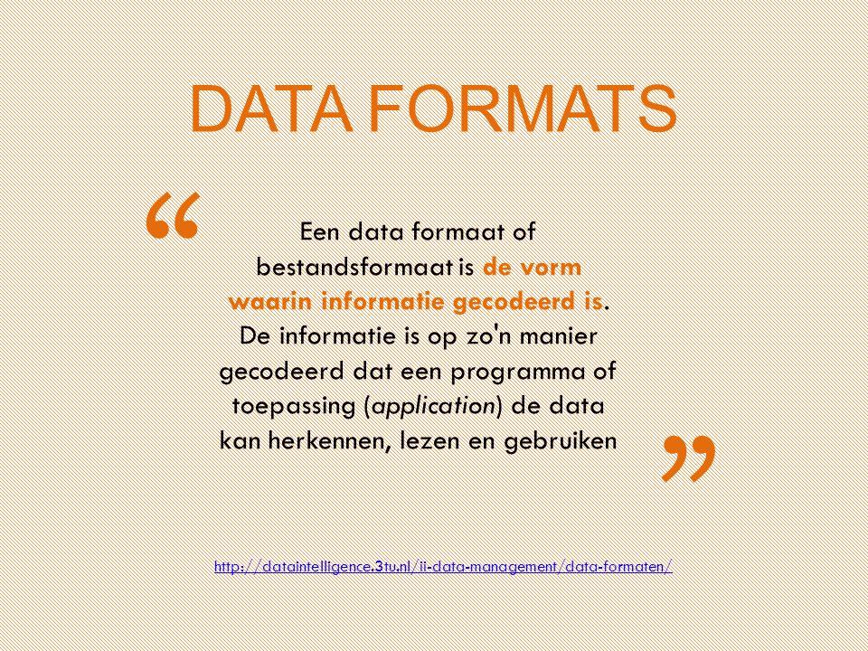 www.twitter.com/insearch4data Marina Noordegraaf (www.verbeeldingskr8.nl)www.verbeeldingskr8.nl Tot data De plaatjes zonder bronvermelding zijn gemaakt door Marina Noordegraaf