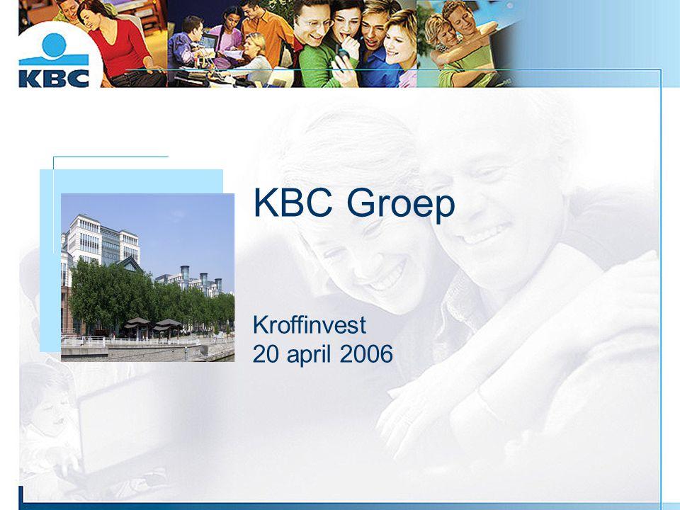 KBC Groep Foto gebouw Kroffinvest 20 april 2006