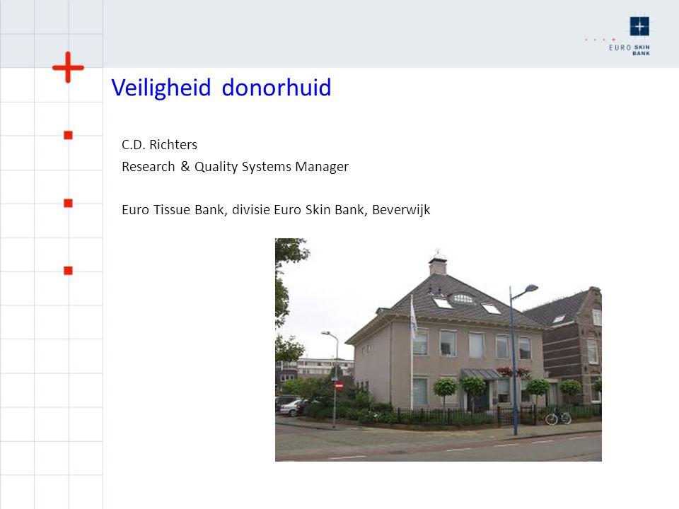 Mogelijke meldingen 2010-2011 Mogelijke bijwerking: BWC Groningen: schimmelgroei via donorhuid.